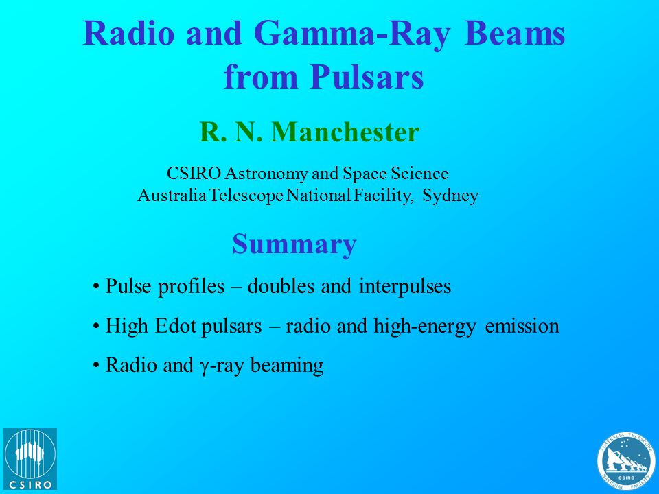 Spin-Powered Pulsars: A Census Data from ATNF Pulsar Catalogue, V1.40 (www.atnf.csiro.au/research/pulsar/psrcat; Manchester et al.