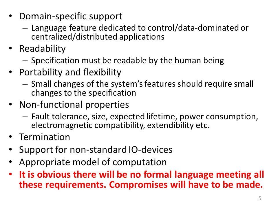 Overview Harel's StateCharts UML Statecharts Statemate SDL SystemC SpecC VHDL, Verilog, SystemVerilog Simulink C, C++, Java 86