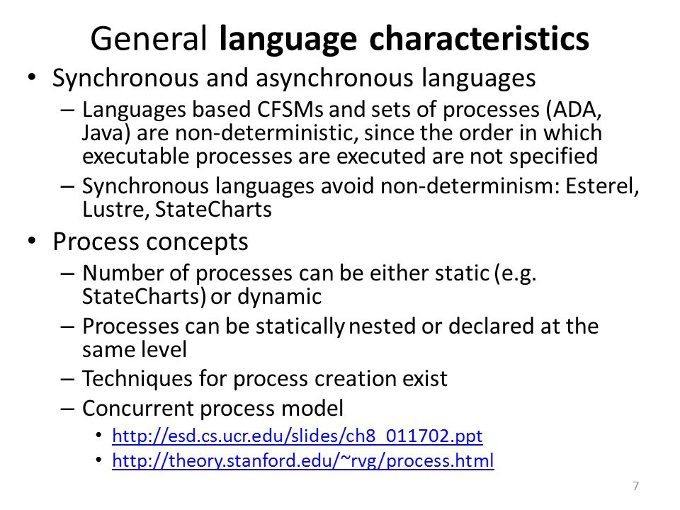 STATEMATE simulation Statemate model is a formal model that can be simulated and automatically translated into code.
