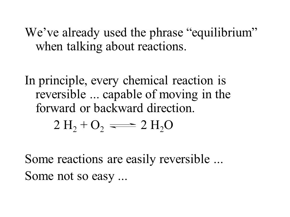 Calculating Equilibrium Constants Steps to Solving Problems: 1.Write an equilibrium expression for the balanced reaction.