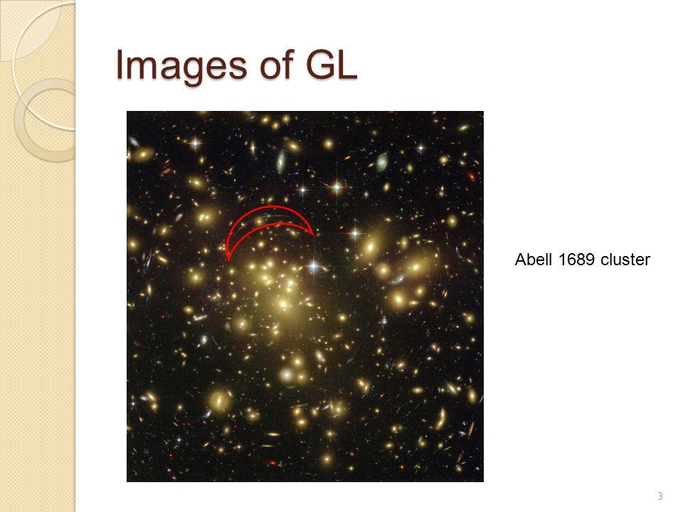 Images of GL 4 Einstein Ring – SDSS J073728.45+321618.5 Einstein Cross – QSO 2237+030