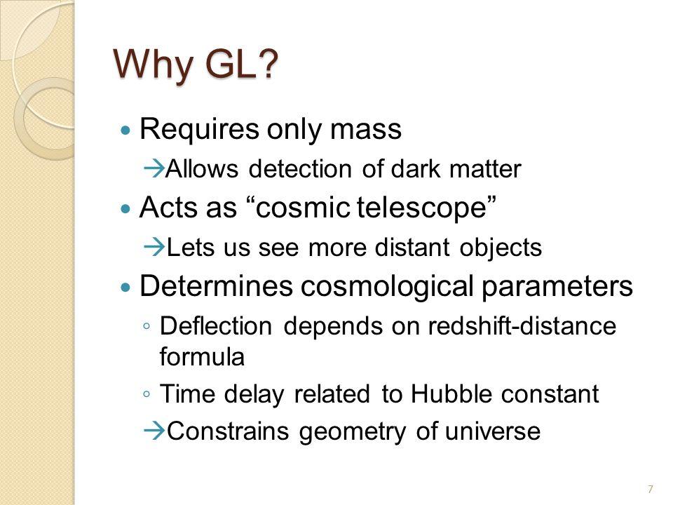Gravitational Lensing Theory Point-mass lens Finite lens 8