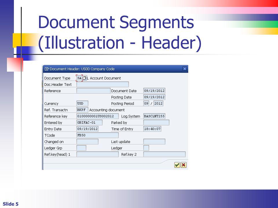 Slide 5 Document Segments (Illustration - Header)