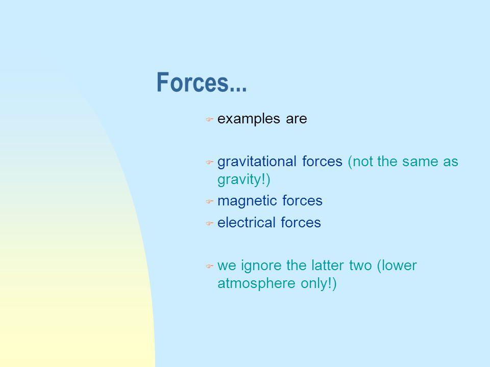 Forces...
