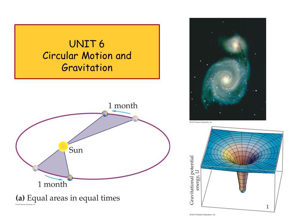 UNIT 6 Circular Motion and Gravitation 1