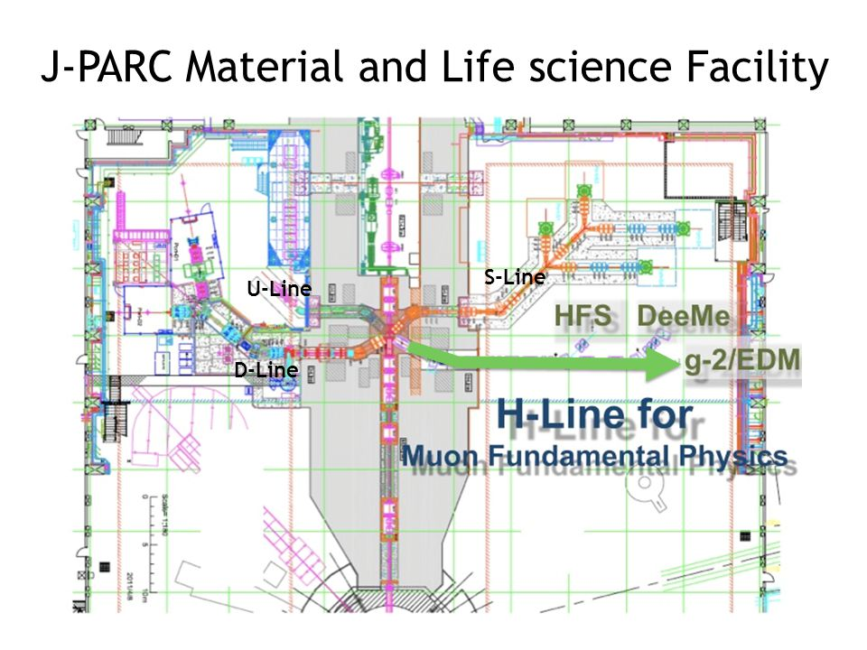 Bird's eye photo in Feb. 2008 J-PARC Material and Life science Facility U-Line D-Line S-Line