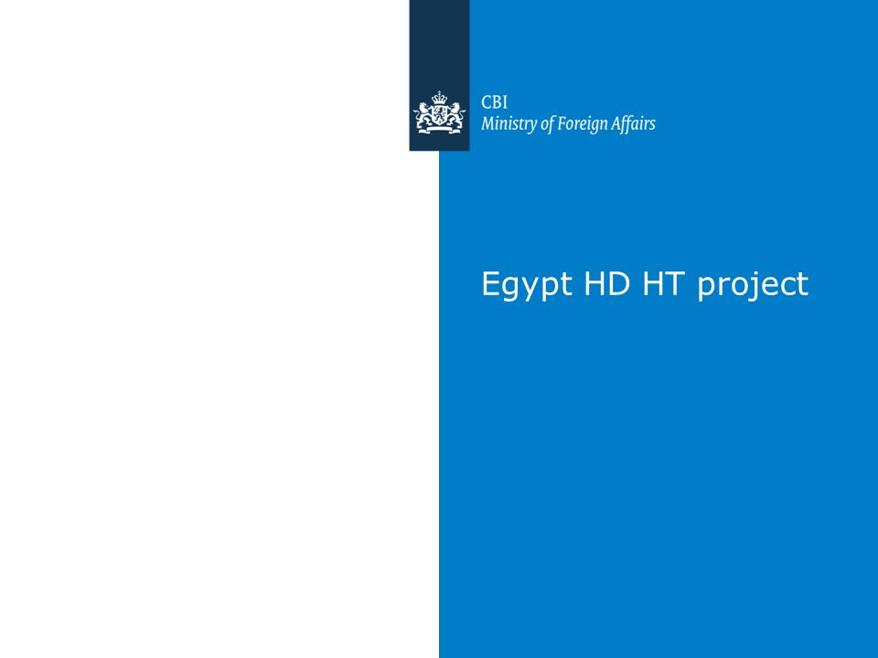 Egypt HD HT project