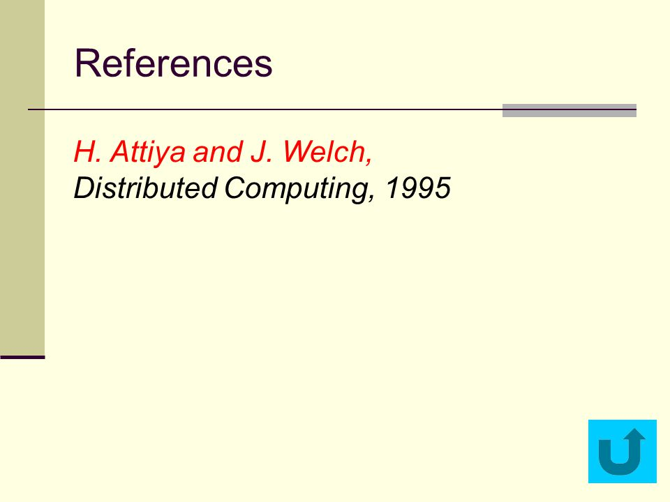 H. Attiya and J. Welch, Distributed Computing, 1995