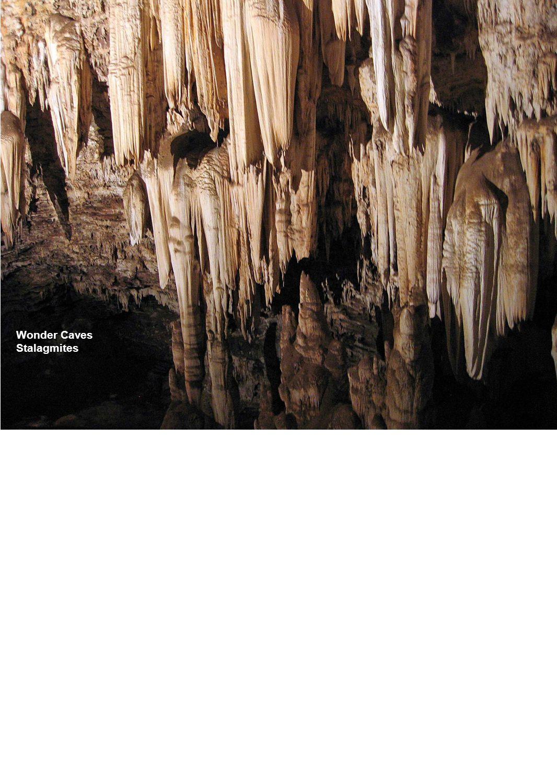 Wonder Caves Stalagmites