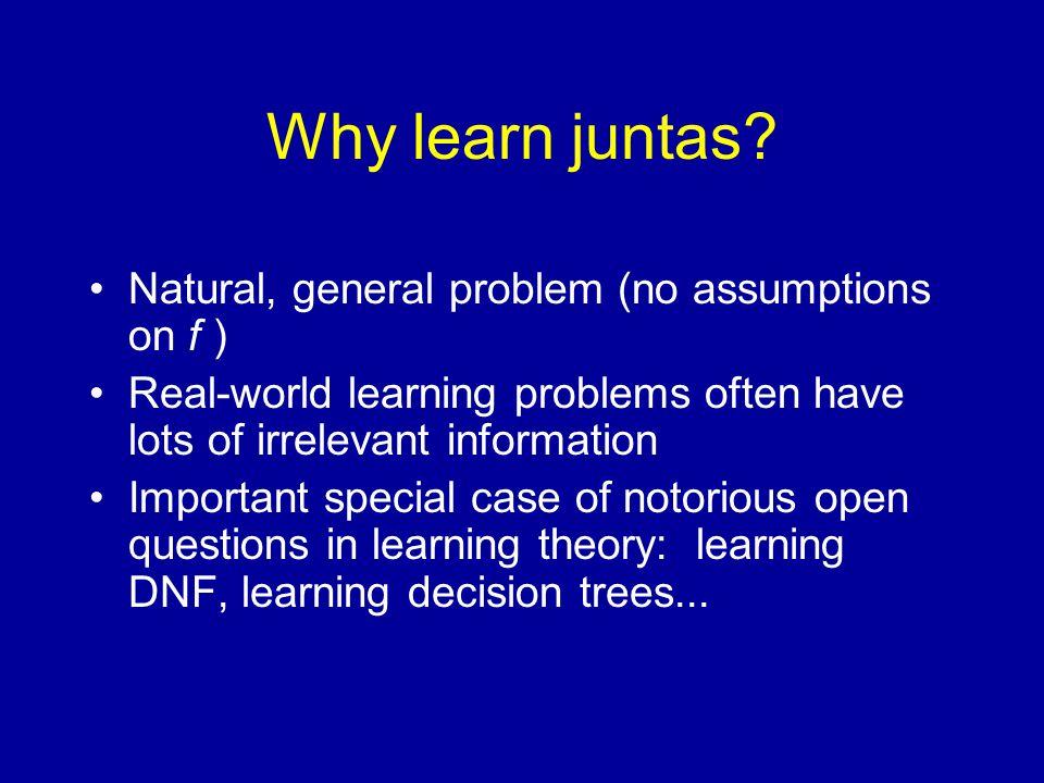 Why learn juntas.