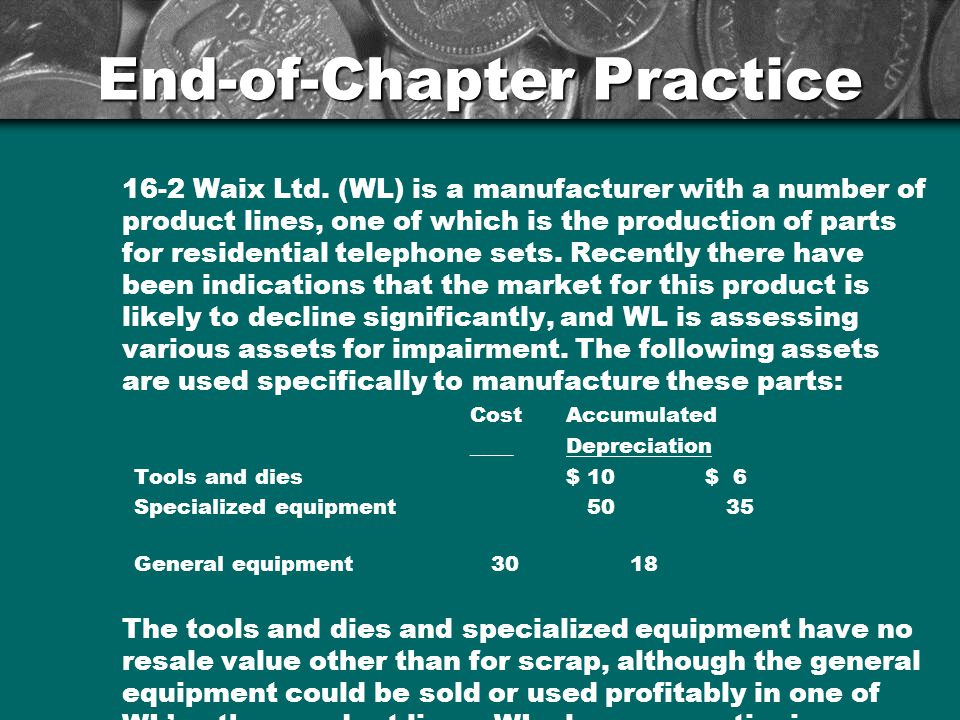 End-of-Chapter Practice 16-2 Waix Ltd.