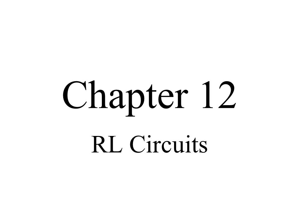 Objectives Describe the relationship between current and voltage in an RL circuit Determine impedance and phase angle in a series RL circuit Analyze a series RL circuit Determine impedance and phase angle in a parallel RL circuit