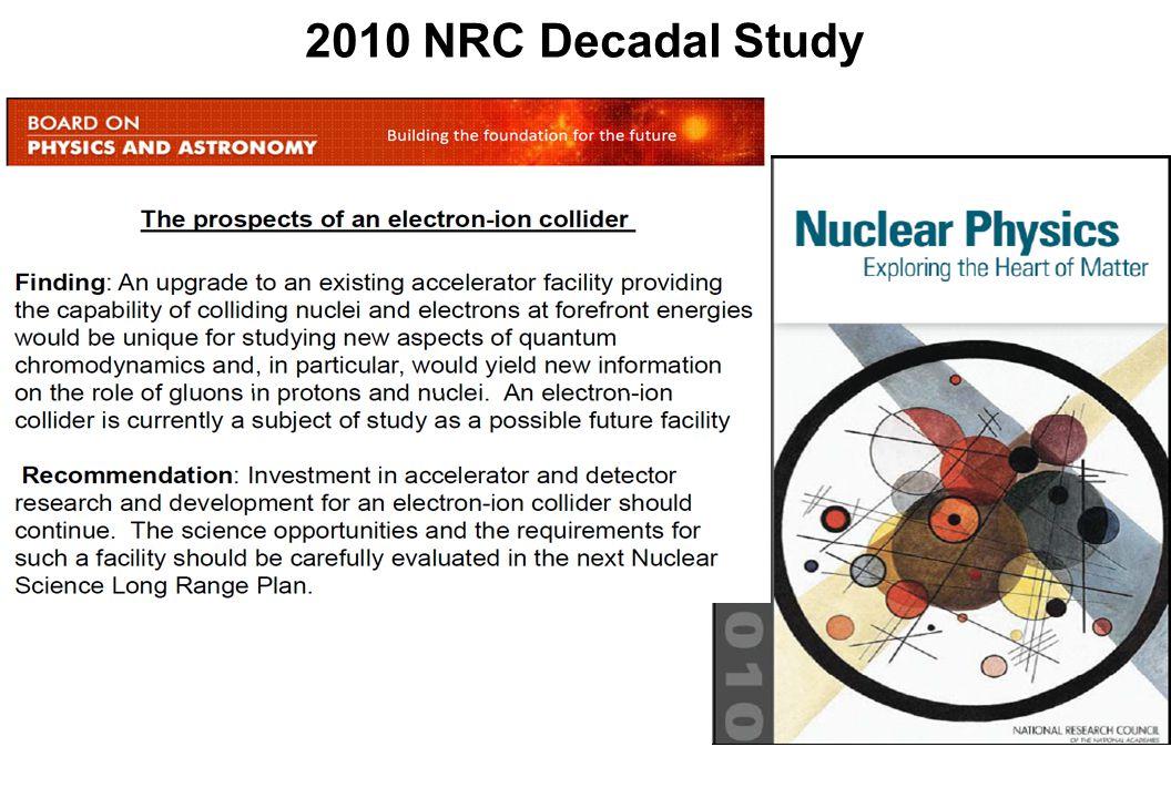 2010 NRC Decadal Study