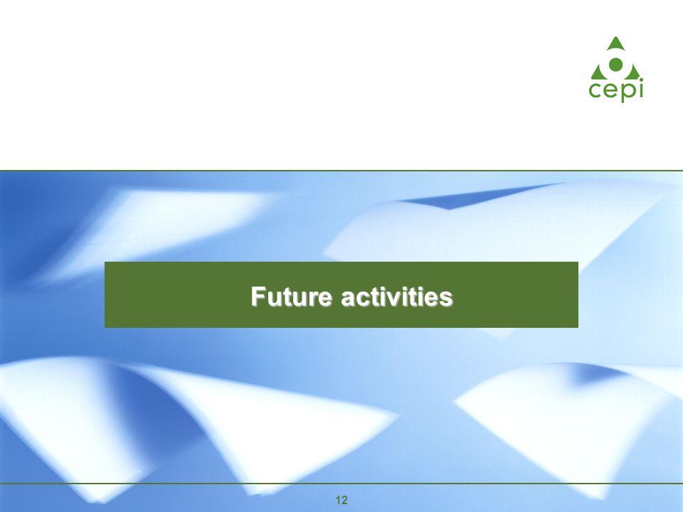12 Future activities 12