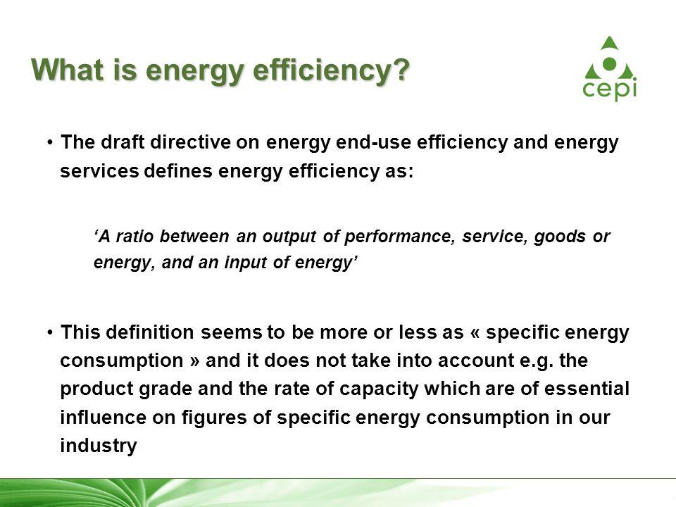 23 What is energy efficiency.