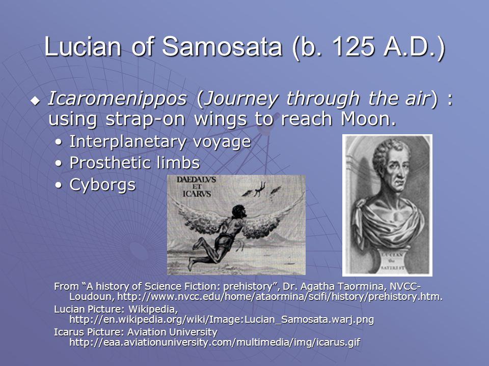 Lucian of Samosata (b.