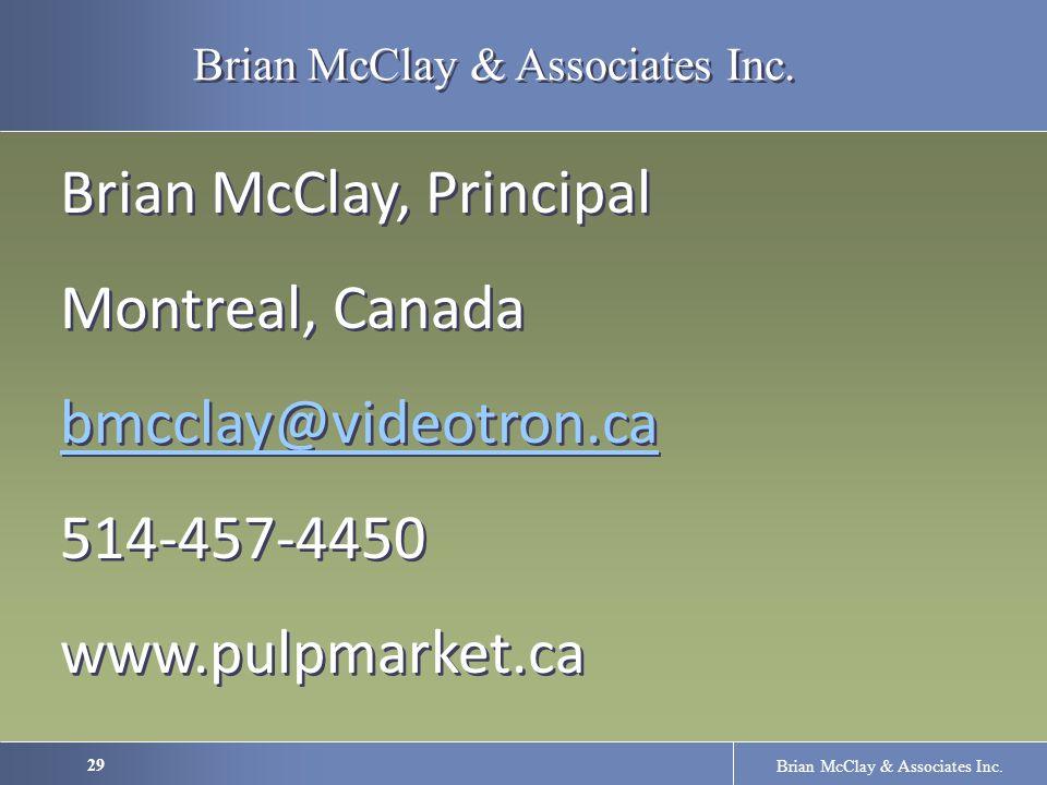29 Brian McClay & Associates Inc.