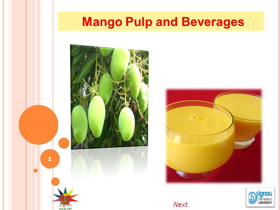 Mango Pulp and Beverages 1 Next