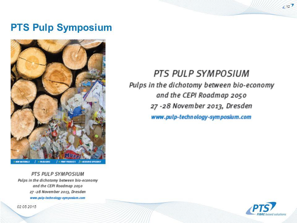 02.05.2015 PTS Pulp Symposium 12