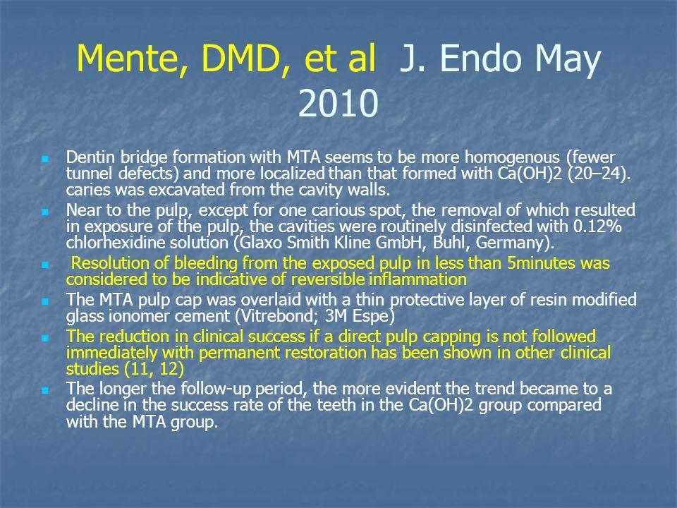 Mente, DMD, et al J.
