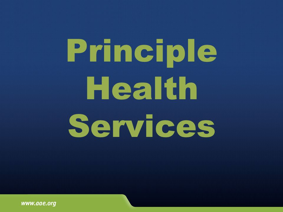 Principle Health Services