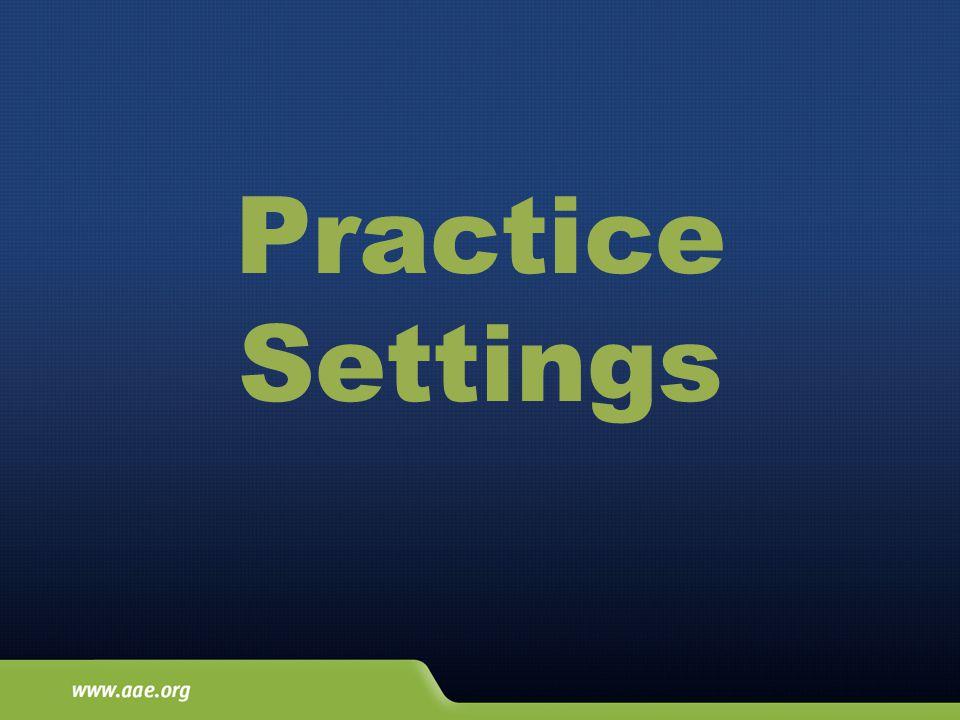 Practice Settings