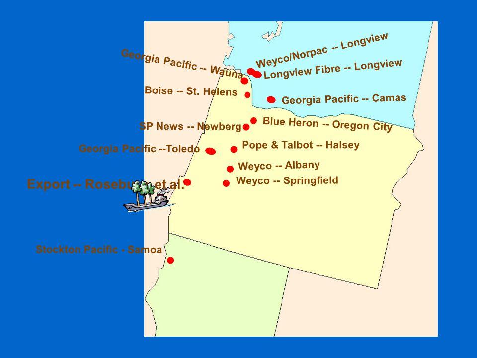 Weyco/Norpac -- Longview Boise -- St.