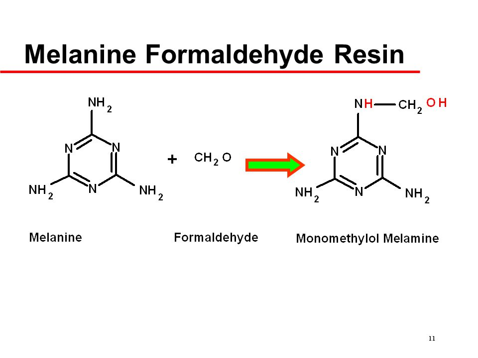 11 Melanine Formaldehyde Resin