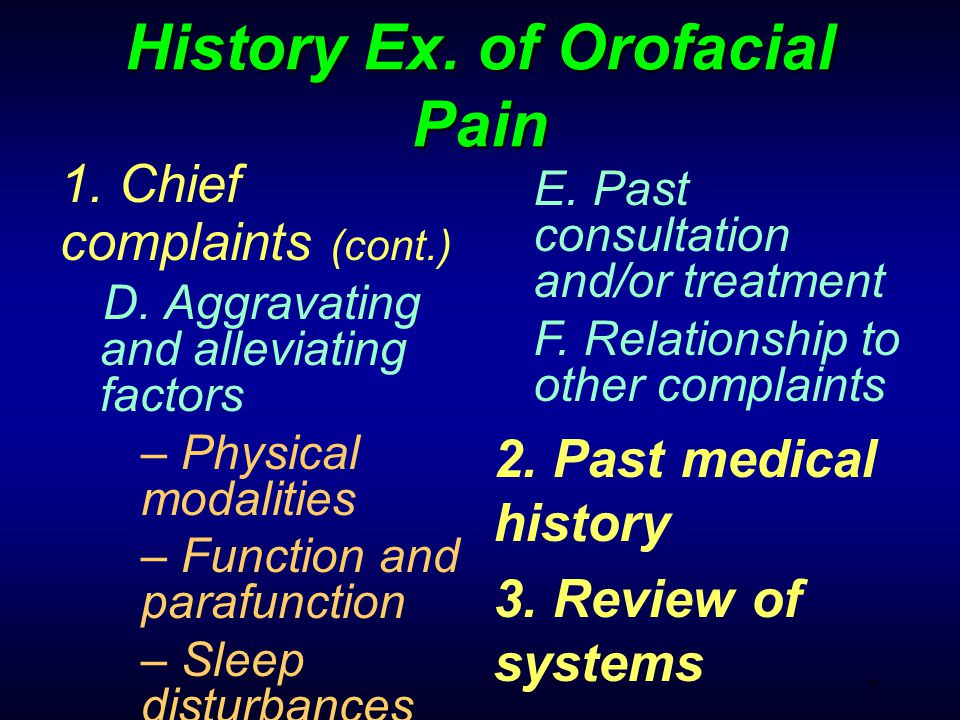 68 Pain for Intraoral Origin Pain from Dentine Pain from Pulp Pain from Gingiva Pain from Periodontatitis Pain from Periapical periodontitis