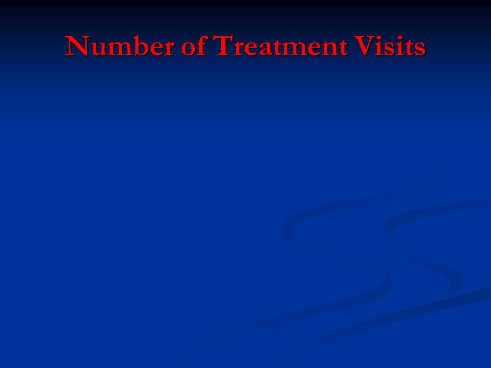 Number of Treatment Visits