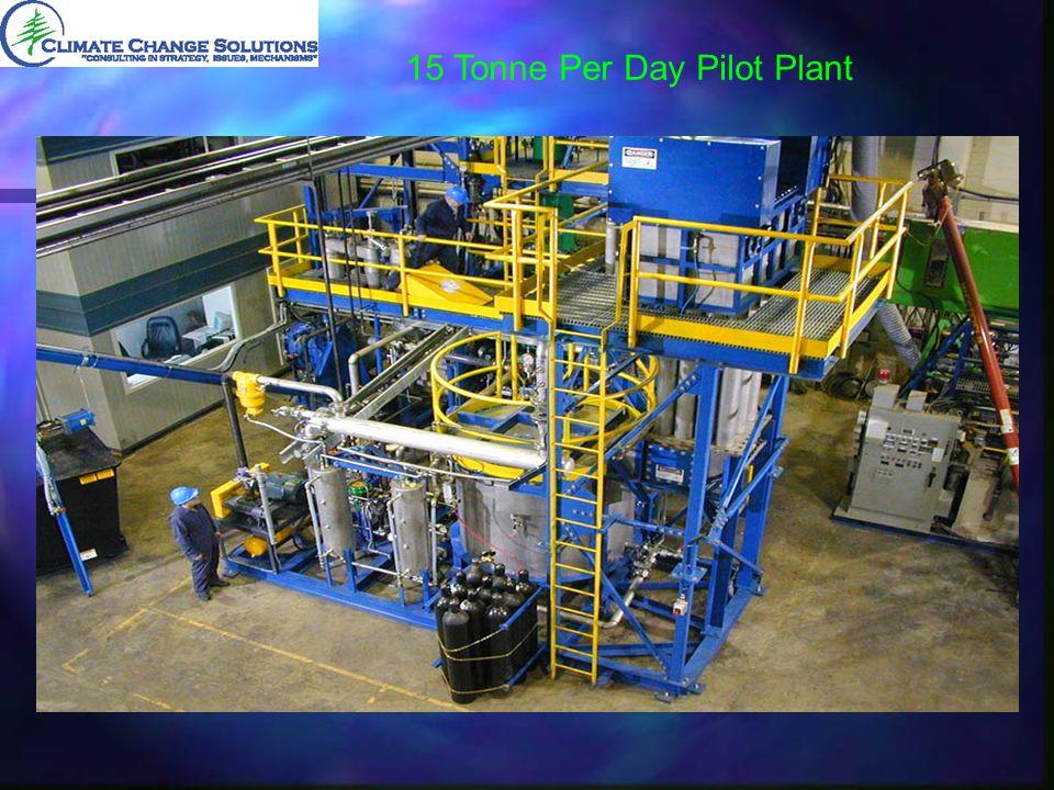 15 Tonne Per Day Pilot Plant