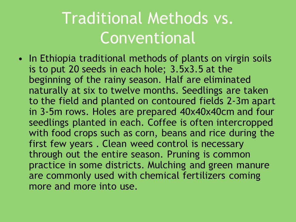 Traditional Methods vs.