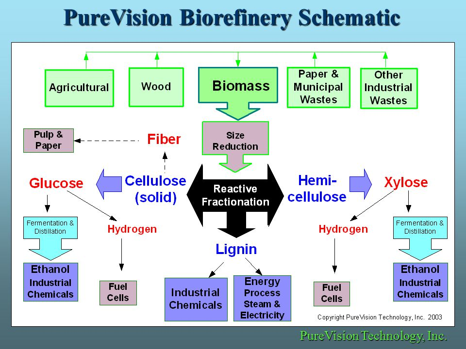 PureVision Biorefinery Schematic PureVision Technology, Inc. PureVision Technology, Inc.
