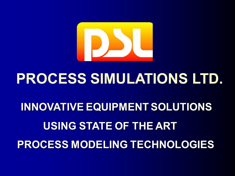 PROCESS SIMULATIONS LTD.