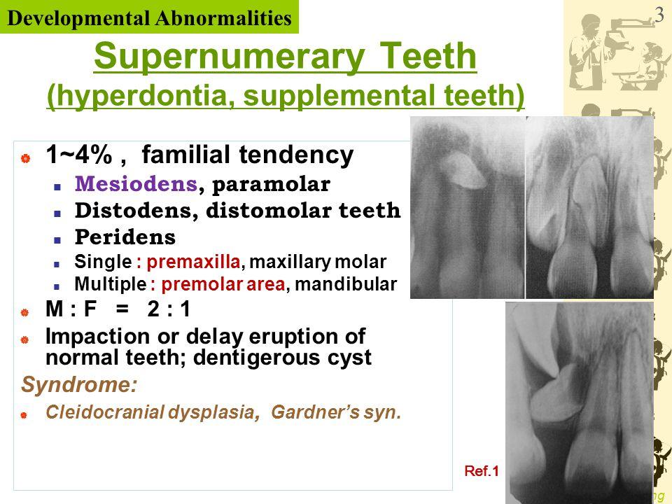 WenChen Wang Enamel Pearl (enameloma, enamel drop, enamel nodule) - small globule of enamel on the roots furcation area of molars  prevalence : 3 %  mesial or distal aspect in Max.