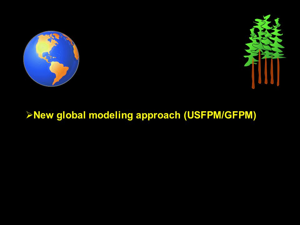 As in past RPA assessments agricultural short-rotation woody crops such as hybrid poplars, and wood from fire salvage or fuel thinning programs may be introduced also in USFPM/GFPM via cost-based supply functions that can provide new supply sources if competitive with existing supply sources.