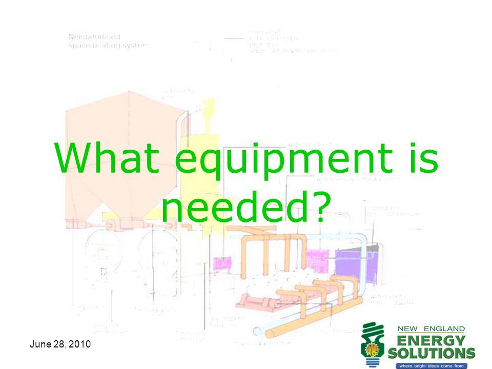June 28, 2010 What equipment is needed