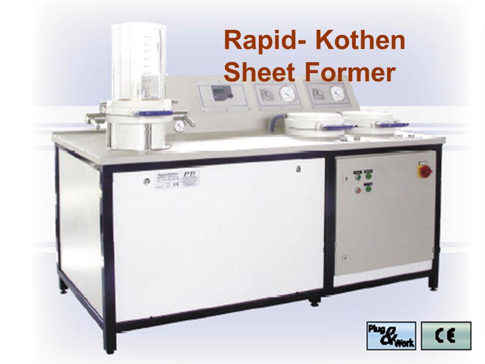 Rapid- Kothen Sheet Former