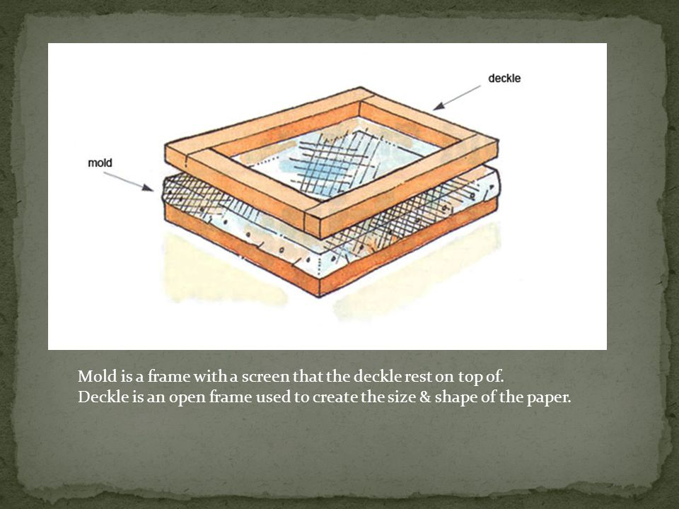 The origin of papier mâché is at least as ancient as the invention of paper itself.