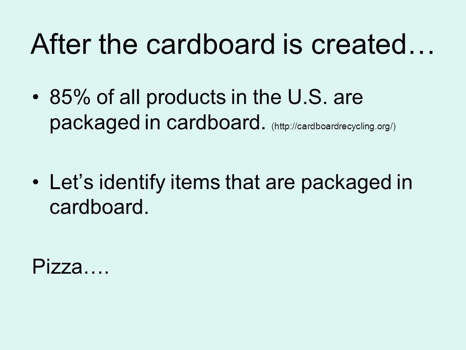 www.123rf.com/photo_3883001_cardboard-trash.html 31.4 million tons of corrugated cardboard is throw-away annually in the U.S..