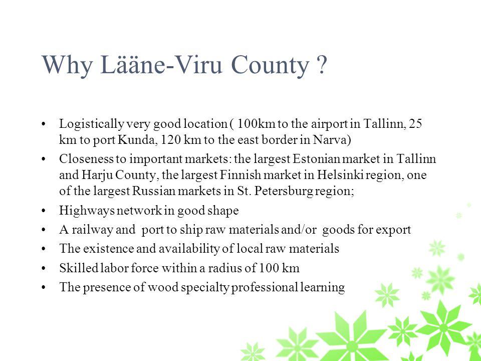 Why Lääne-Viru County .