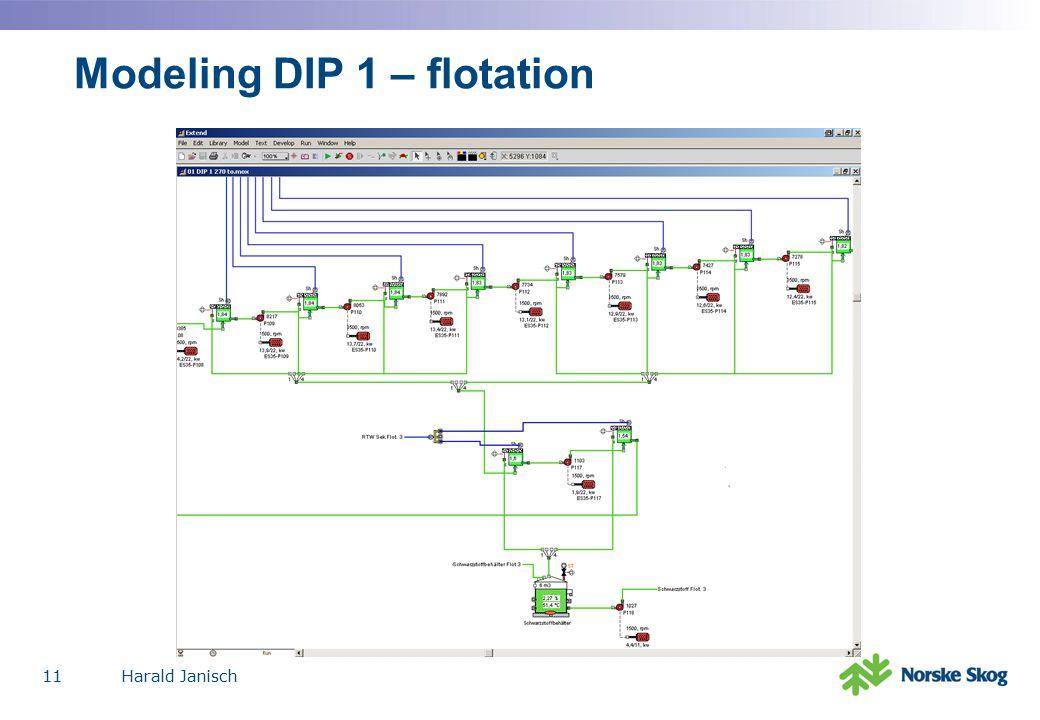 Harald Janisch11 Modeling DIP 1 – flotation