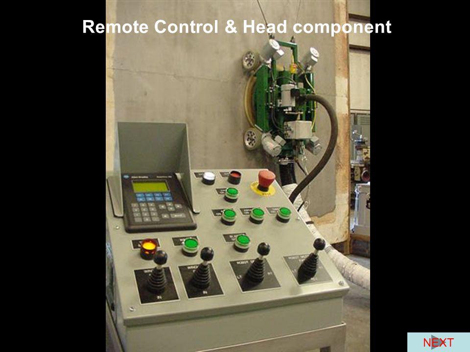 Remote Control & Head component NEXT