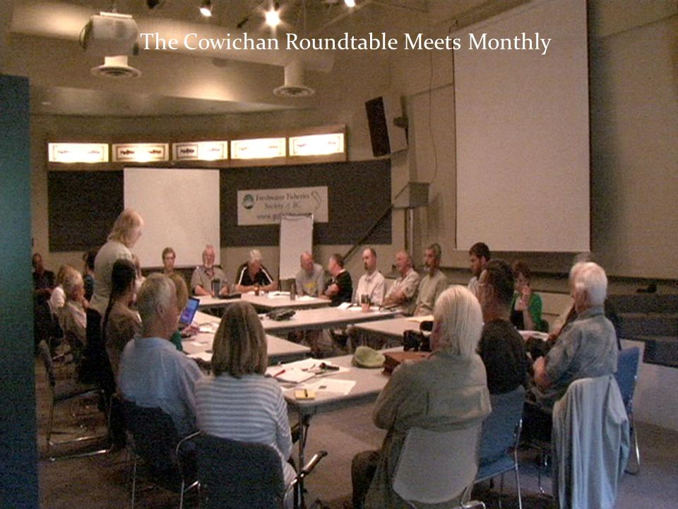 The Cowichan Roundtable Meets Monthly