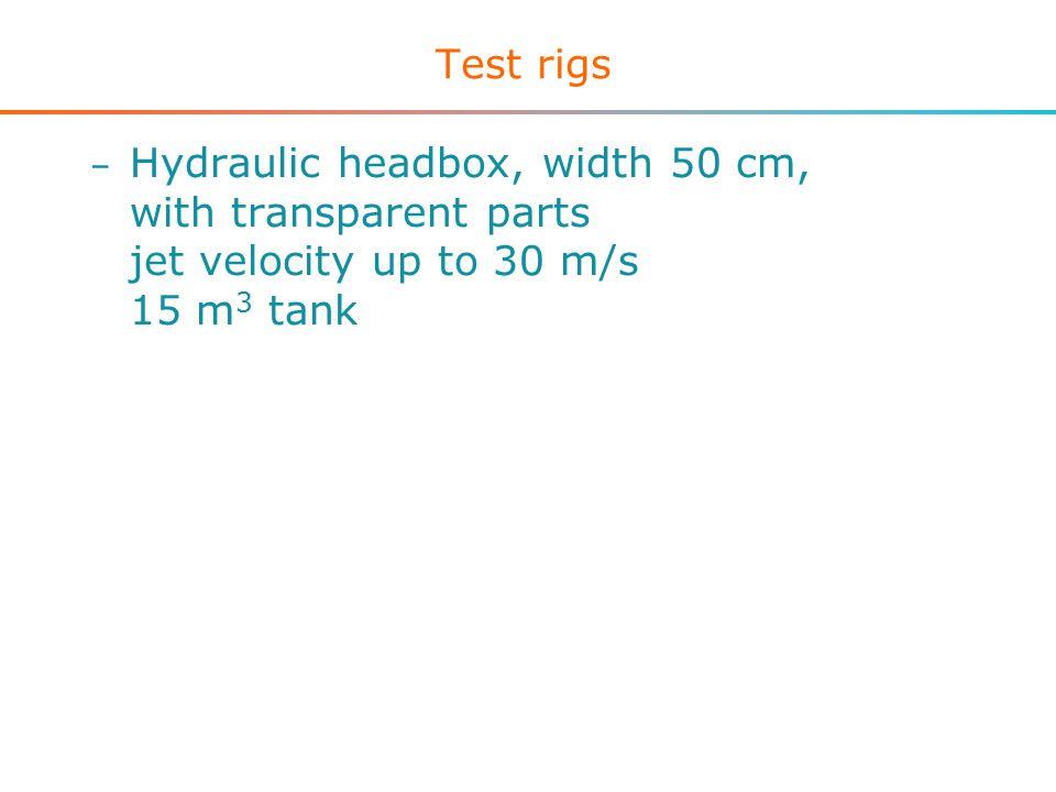 Equipment - sensors – Magnetic flow meters – Mass flow meter – Pressure sensors – Differential pressure sensors – Temperature sensors – Pulsed ultrasound Doppler velocimeter – High speed video camera / camcorder