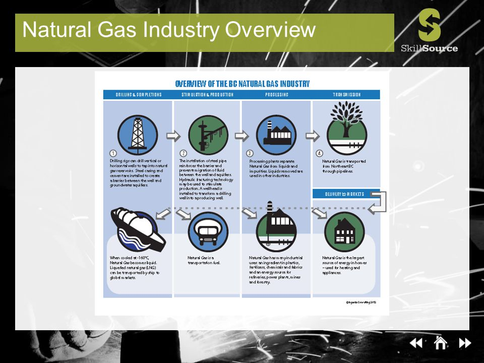 Natural Gas Industry Overview