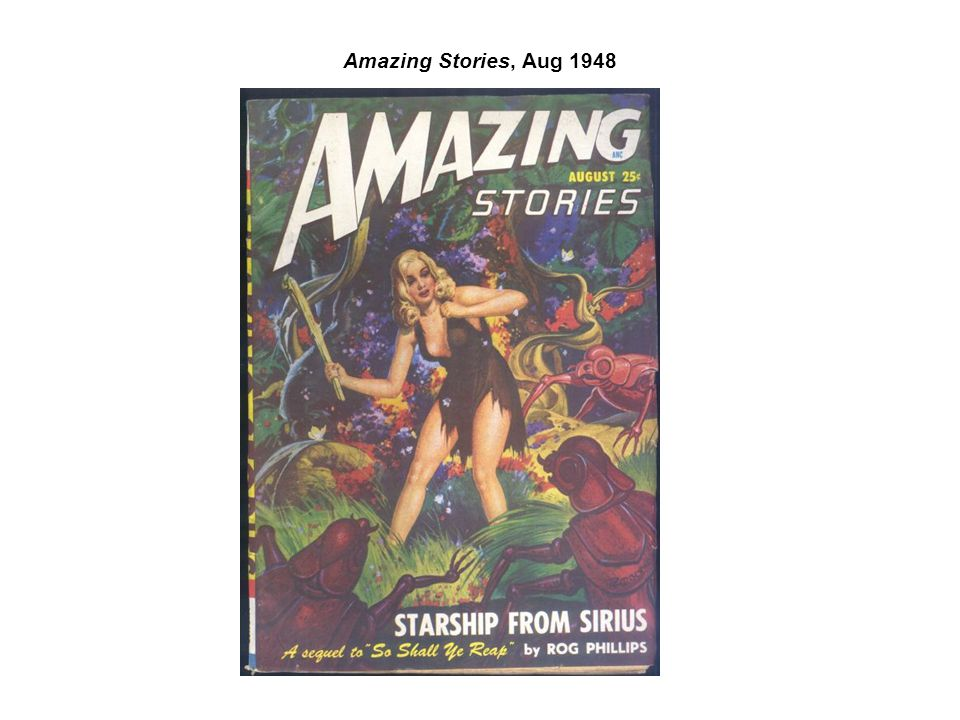 Amazing Stories, Aug 1948