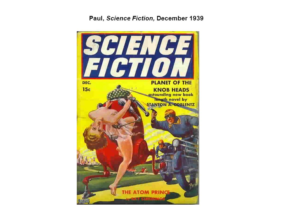 Paul, Science Fiction, December 1939