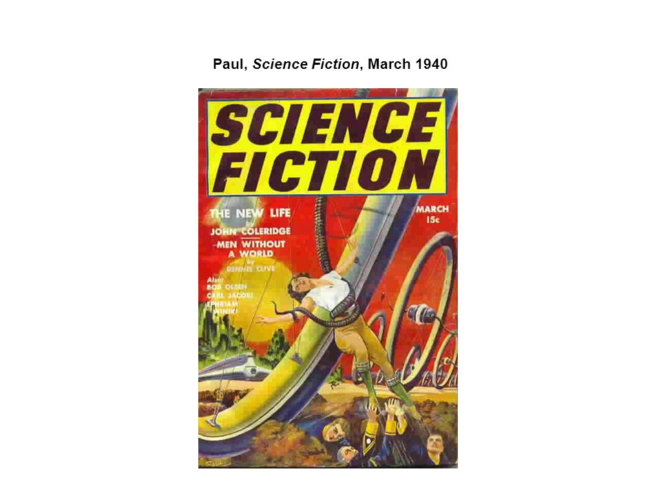 Paul, Science Fiction, March 1940