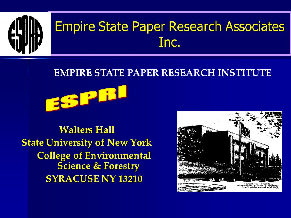 Empire State Paper Research Associates Inc.